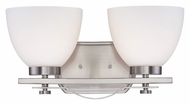 Nuvo 605012 Bentley 2 Lamp 15 Inch Wide Transitional Bath