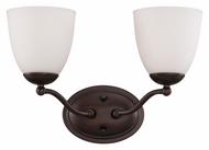 Nuvo 605132 Patton Transitional Style 15 Inch Wide Bath Sconce - Prairie Bronze