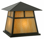 Meyda Tiffany 112417 Square Stillwater 23 Inch Tall Pier Mount Lighting - Craftsman
