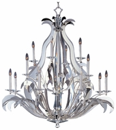 Passion Large Contemporary 16-light Crystal Chandelier Lighting