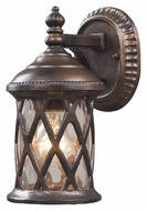 ELK 42036/1 Barrington Gate Upper Mounting Hazelnut Bronze Exterior Wall Lighting - 10 Inches Tall