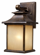 ELK 42180/1 San Gabriel Small 12 Inch Tall Traditional Bronze Outdoor Wall Light