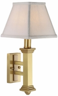 House of Troy WL609SB WL609 Wall Lamp in Satin Brass