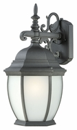 Thomas PL92297 Covington Black 18 Inch Tall Outdoor Fluorescent Wall Lighting