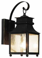 Trans Globe Garden Chimney Weathered Bronze Outdoor Wall Sconce Light