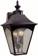 Feiss OL1004-ORB Homestead 4-light 25 inch Outside Wall Lamp in Oil Rubbed Bronze