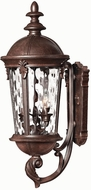 Hinkley 1894RK Windsor 3 Light Outdoor 25 inch Wall Sconce