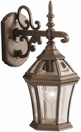 Kichler 9789TZ Townhouse 15.5 Inch Fluorescent Exterior Wall Sconce Lantern