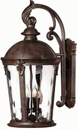 Hinkley 1899RK Windsor 4 Light Outdoor 15 inch Wall Sconce