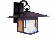 Arroyo Craftsman PDB-9GRC Pagoda Asian Outdoor Wall Sconce - 10 inches tall