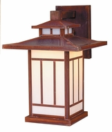 Arroyo Craftsman KB-9 Kennebec Craftsman Outdoor Wall Sconce - 13.5 inches tall
