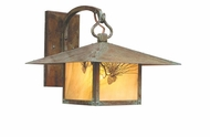 Arroyo Craftsman MB-12 Monterey Craftsman Outdoor Wall Sconce - 12 inches wide