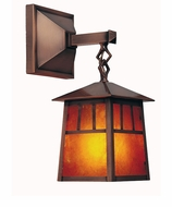 Arroyo Craftsman RB-6 Raymond Craftsman Outdoor Wall Sconce - 10.5 inches tall