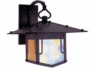 Arroyo Craftsman PDB-12GRC Pagoda Asian Outdoor Wall Sconce - 13 inches tall