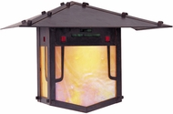 Arroyo Craftsman PDW-17GRC Pagoda Asian Outdoor Wall Sconce - 12 inches tall