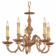 Crystorama 2605-OB Novella Traditional Olde Brass 5 Candle Mini Chandelier Lighting - 18 Inch Diameter