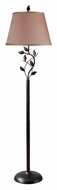 Kenroy Home 32240ORB Ashlen 58 Inch Tall Rustic Style Floor Lamp - Oil Rubbed Bronze