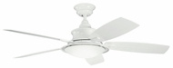 Kichler 310104WH Cameron 52  White Ceiling Fan Light Fixture