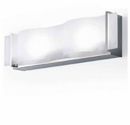 Zaneen D15000 Internos 2-light Contemporary Vanity Light