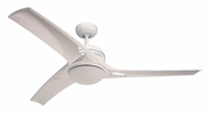 Monte Carlo Fans 3MO52WHO-L Mach One White 52 Inch Wide 3 Blade Indoor Fan Light Fixture