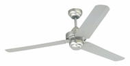 Monte Carlo Fans 3SU54BP Studio 3 Speed Transitional Brushed Pewter Indoor Ceiling Fan