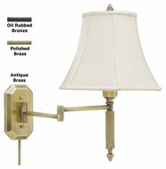 House of Troy WS706 Decorative Swing Arm Wall Lamp