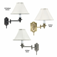 House of Troy CL225 Club Wall Swing Arm Lamp