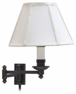 House of Troy LL660OB Library Wall Swing Arm Lamp in Oil Rubbed Bronze