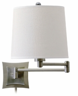 House of Troy WS752AS House of Troy Transitional Wall Swing Arm Lamp in Antique Silver