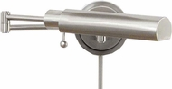 House of Troy WS1252F WS12-F Task Swing Arm Wall Lamp in Satin Nickel