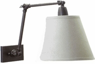 House of Troy DL20OB Lincoln Collection Adjustable Swing Arm Wall Lamp in Oil Rubbed Bronze