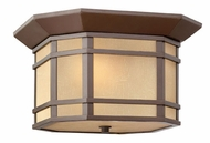 Hinkley 1273OZ Cherry Creek Outdoor Craftsman Ceiling Light - Flush Mount
