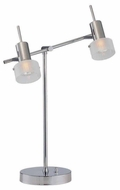 Lite Source LS20815 Essery Modern 2-Light Table Lamp