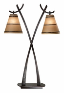 Kenroy Home 03334 Wright 2 Lamp 31 Inch Tall Asian Table Lamp   Oil Rubbed  Bronze