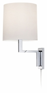Sonneman 6440.01 Thick Thin 16 Inch Tall Modern Chrome Mini Wall Lamp
