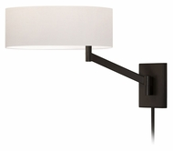 Sonneman 7080.27 Perch Coffee Bronze 13 Inch Tall Contemporary Wall Mounted Bedside Lamp
