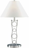Lite Source LS3862-PS Vortex Table Lamp - Polished Steel