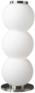 PLC 81810-SN Snowman Table Lamp with Matte Opal Glass