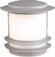 PLC 1892-SL Tusk 10 inch High Outdoor Wall Light in Silver
