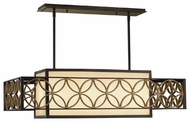 Feiss F2468-4HTBZ-PGD Remy Four Light Kitchen Island Light