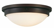 Feiss FM228-ORB Boulevard Collection 13 inch Flushmount Ceiling Fixture