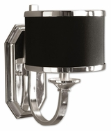 Uttermost 22442 Tuxedo 11 Inch Tall Silver Plated Sconce Lighting