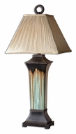 Uttermost 26270 Olinda Stained 37 Inch Tall Transitional Ceramic Lamp