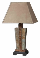 Uttermost 26322-1 Slate Indoor And Outdoor 29 Inch Tall Copper Highlighted Table Light