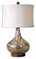 Uttermost 26453-1 Vizzini 25 Inch Tall Transitional Water Glass Lamp