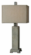 Uttermost 26543-1 Risto Transitional 32 Inch Tall Concrete Bedroom Table Lamp