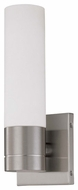 Nuvo 603953 Link ES Contemporary Single Tube Wall Sconce in Brushed Nickel