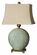 Uttermost 26807 Destin Pitted Ceramic Table Lamp - 28 Inches Tall