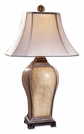 Uttermost 27093 Baron Ivory Crackle Transitional 33 Inch Tall Bed Lamp