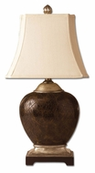Uttermost 27216 Sabine Transitional 30 Inch Tall Table Lighting - Polished Faux Penshell